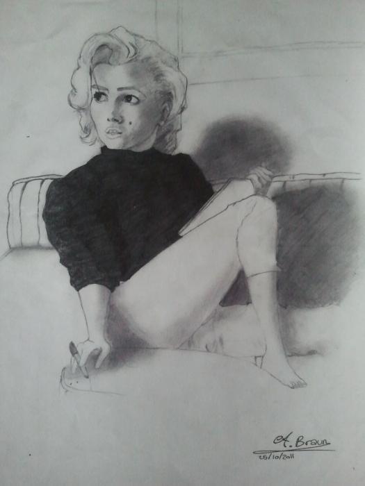 Marilyn Monroe par loule